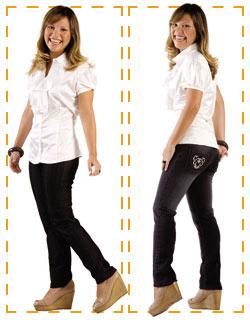 Jeans Baixinha