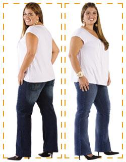 Jeans Gordinha