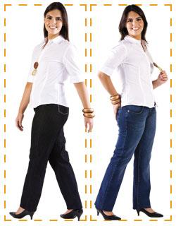 Jeans Quadril Largo