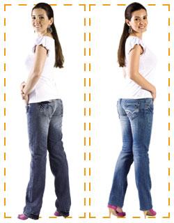 Jeans Pouco Bumbum