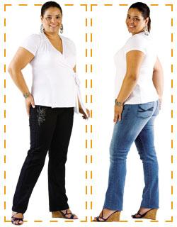 Jeans Pouco Quadril