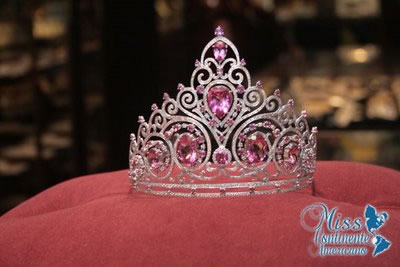 coroa miss continente americano