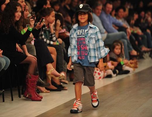 desfile infantil donna fashion iguatemi