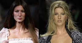 Gisele Bundchen - Antes e Depois da Fama
