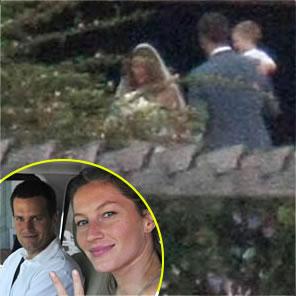 Casamento de Gisele Bundchen