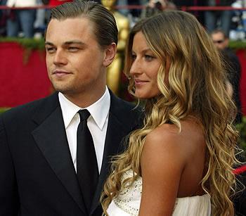 Gisele Bundchen e Leonardo Di Caprio