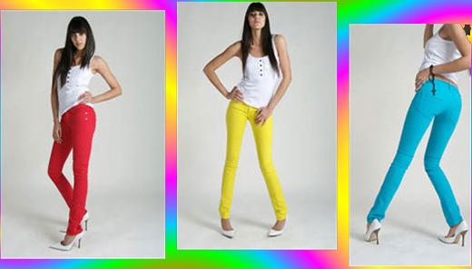 Jeans Colorido