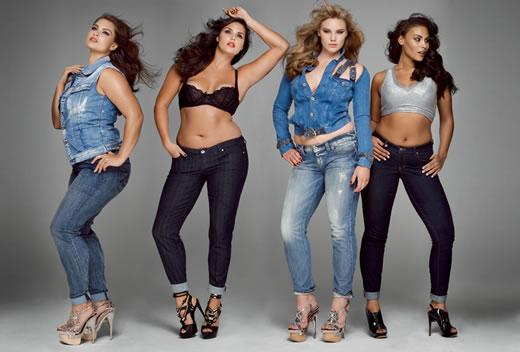 Modelos Plus Size - Candice - Marquita - Michelle - Tara