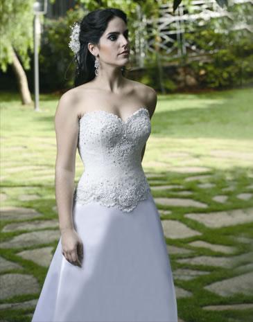 Vestido noiva Tomara-que-caia