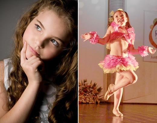 Cinderela Infantil Isabelly Suman e candidata na Prova de Talentos
