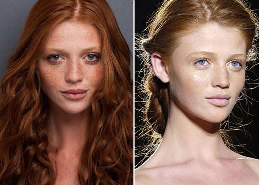 Cintia Dicker - Com e Sem Maquiagem