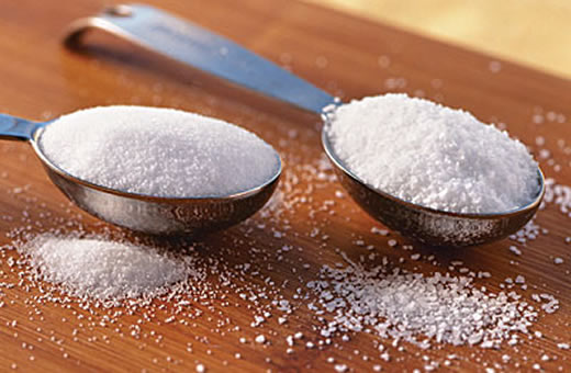 Esfoliante Caseiro para o Rosto: Açucar e Sal
