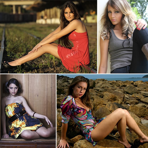 Poses para Book: Fotos Sentada