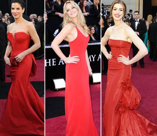 Vestidos do Oscar 2011