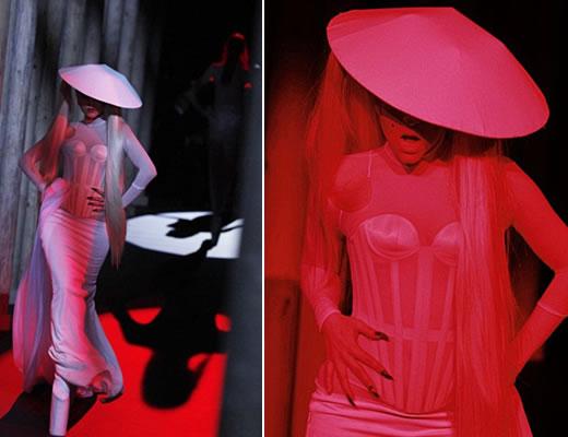 Lady Gaga Chapé Chinês