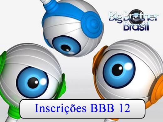 Inscrição BBB12