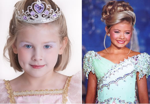 Maquiagem para Desfile e Concurso Infantil
