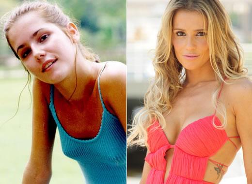 Deborah Secco Antes e Depois do Silicone