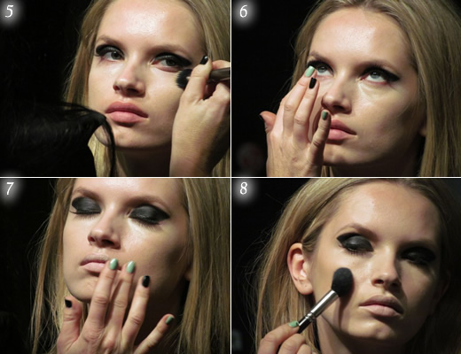 Maquiagem para Modelo