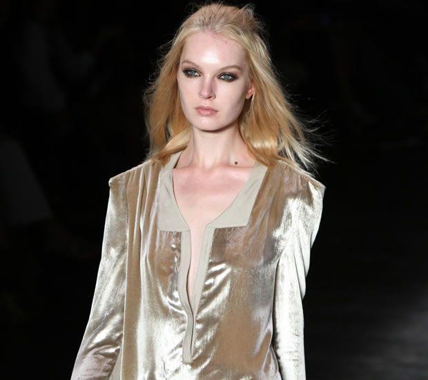 Tendência Moda 2012 - Veludo