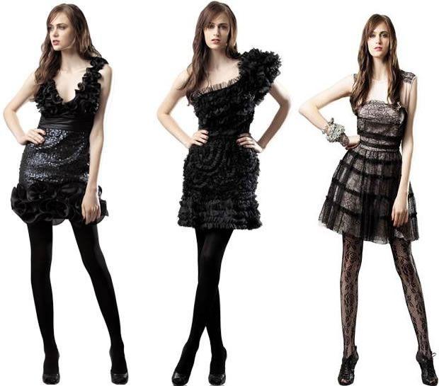 Vestido Curto para Formatura - Preto