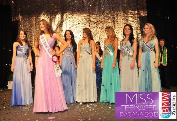 Miss Teenager Paraná 2012
