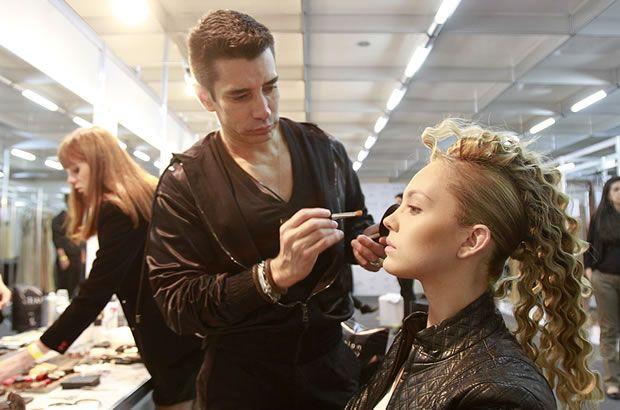 Backstage Hair Fashion Show