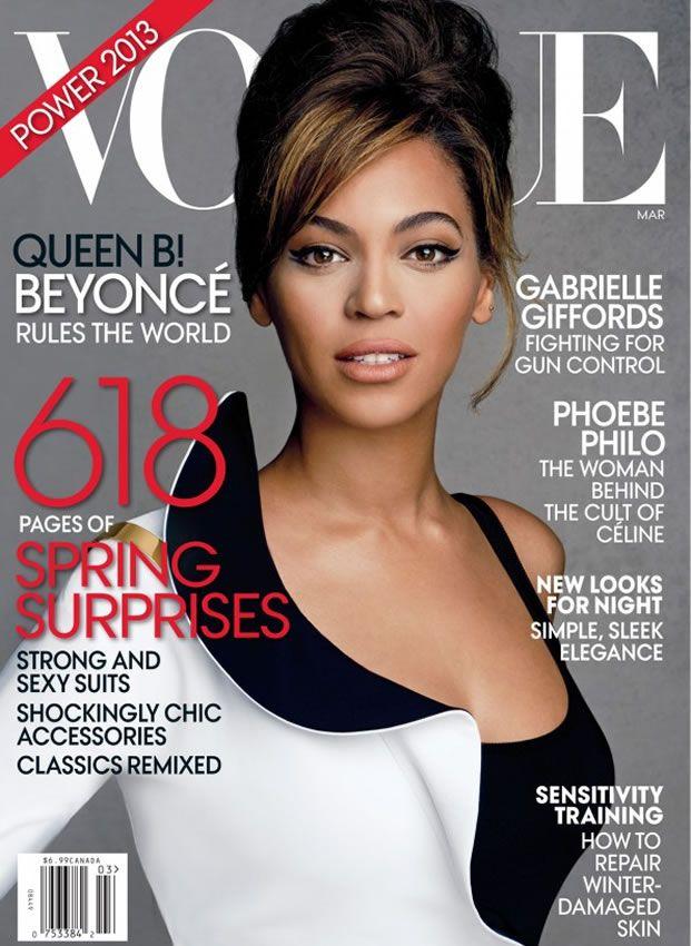 Beyoncé para Vogue Americana