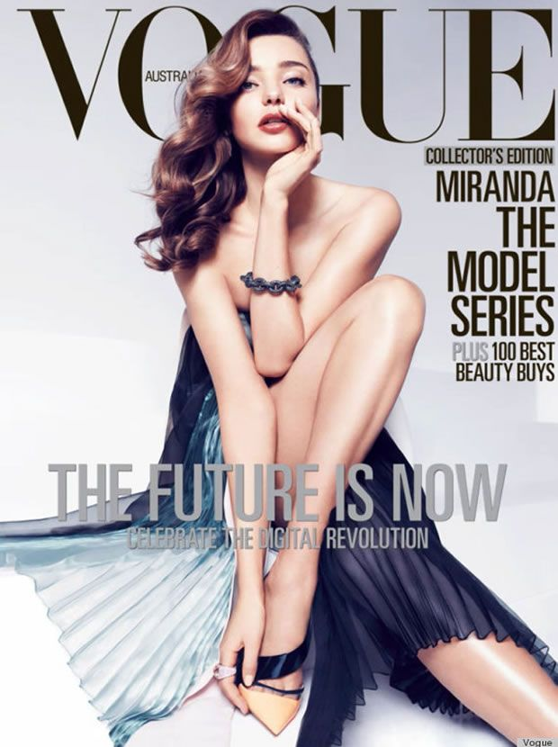 Campanha de Miranda Kerr para Vogue Austrália