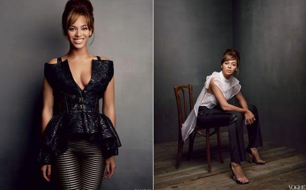 Ensaio de Beyoncé para Vogue