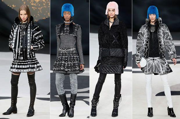 Gorros Chanel Inverno 2013/14