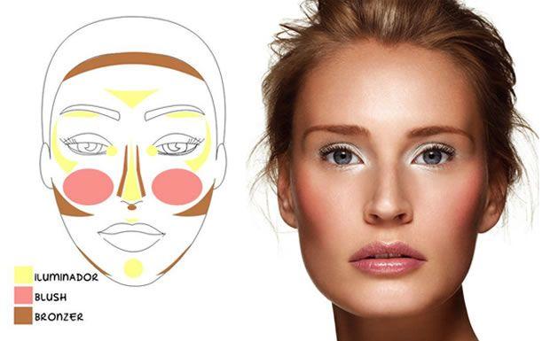 Iluminador Maquiagem 2013