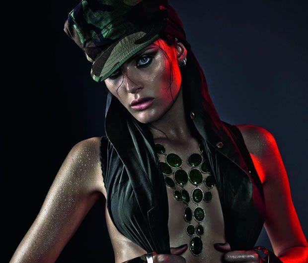 Isabeli Fontana para Vogue Brasil