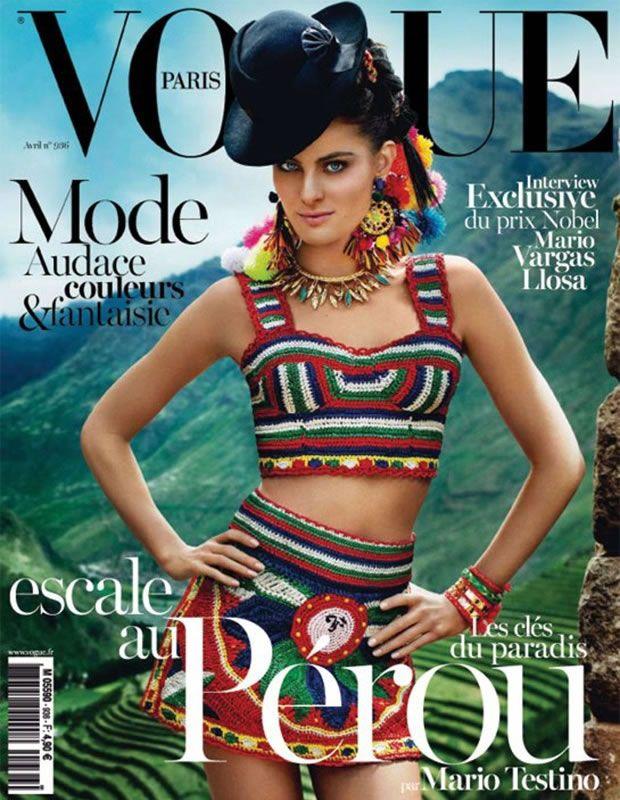 Isabeli Fontana para Vogue Paris