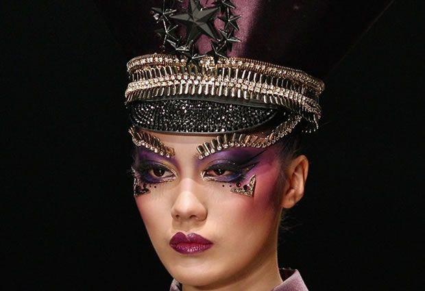Maquiagem Desfile 2013