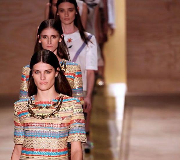 Maria Filó no Fashion Rio