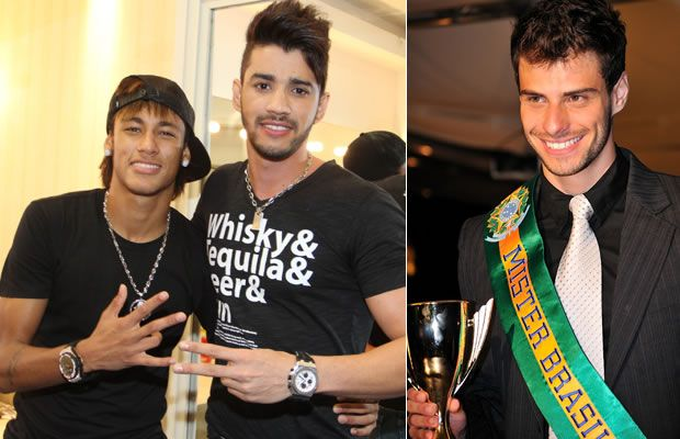 Neymar, Gusttavo Lima e Lucas Malvacini - Amor à Vida