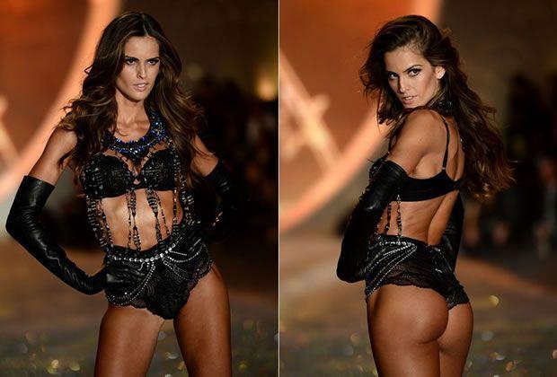 Izabel no Desfile Victoria's Secret
