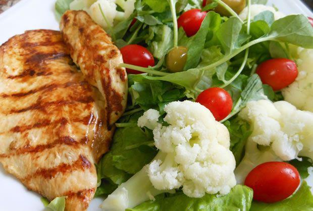 Comida Balanceada sem Carboidrato
