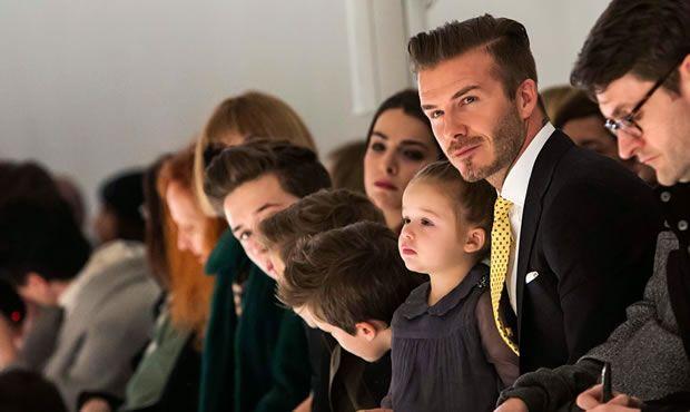 David Beckham Prestigiando
