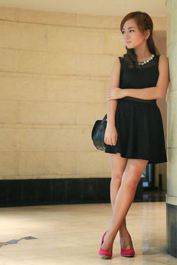 Preto com Sapato Colorido
