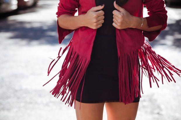 Jaquetas de Franja