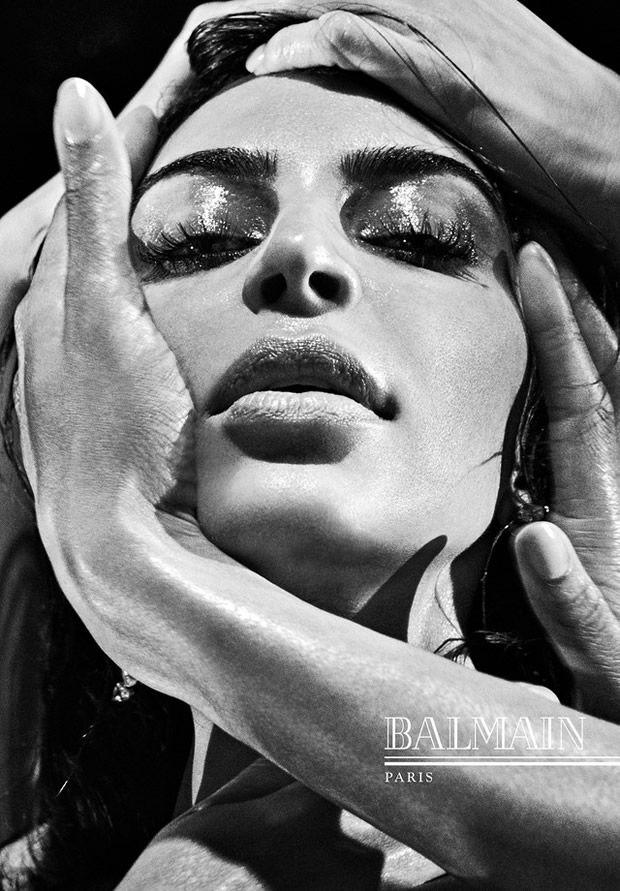 Kim Kardashian para Campanha Balmain
