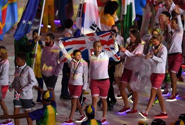 Tênis com Luzinhas Olimpíadas