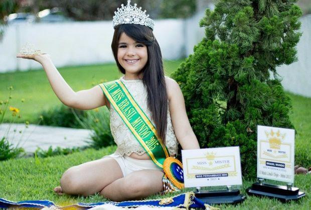 Letícia Gabrielle é a Nova Mini Miss Universo