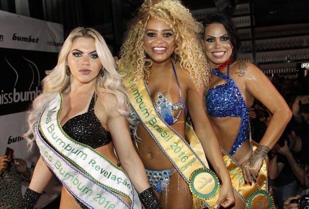 Erika Canela é a Primeira Negra a Levar o Título do Miss Bumbum