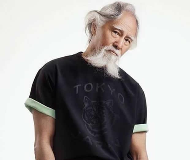 Modelo Chines de 80 Anos Wang Deshun
