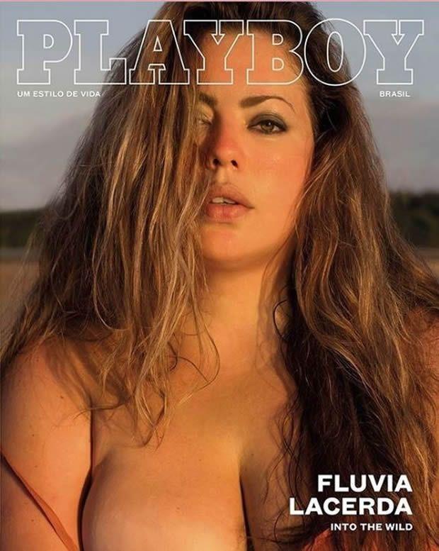 Modelo Plus Size Estreia Capa da Playboy