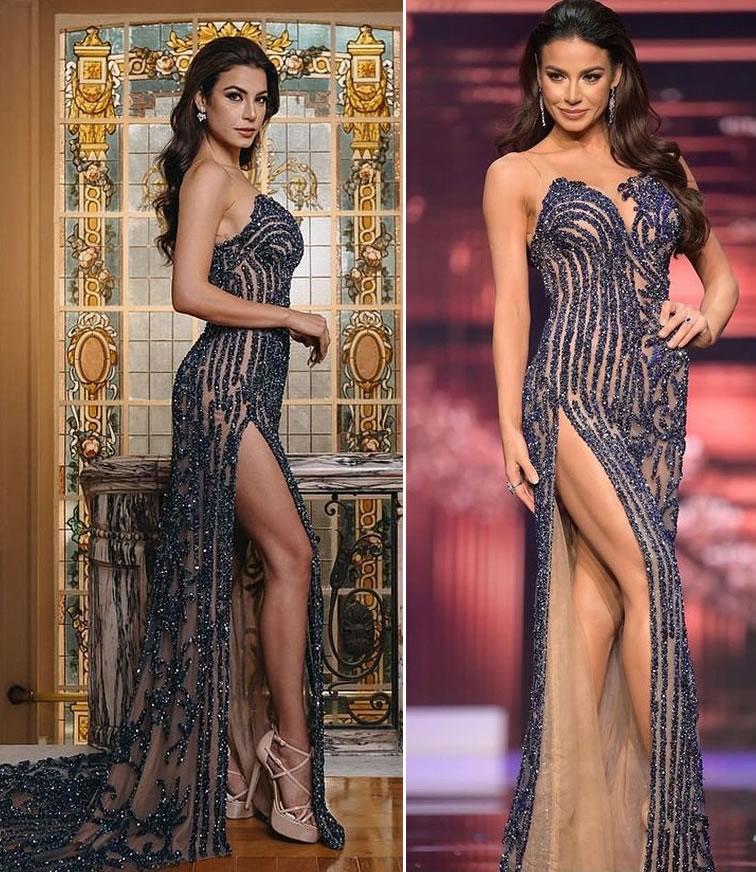 Vestido Miss Brasil Final