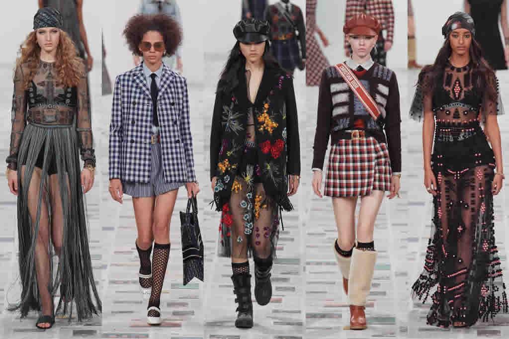 Beleza brasileira está presente no mundo da moda e domina as passarelas do Brasil e exterior.